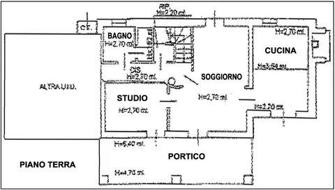 La cucina, il soggiorno, il bagno: ecco la pianta della casa dell ...