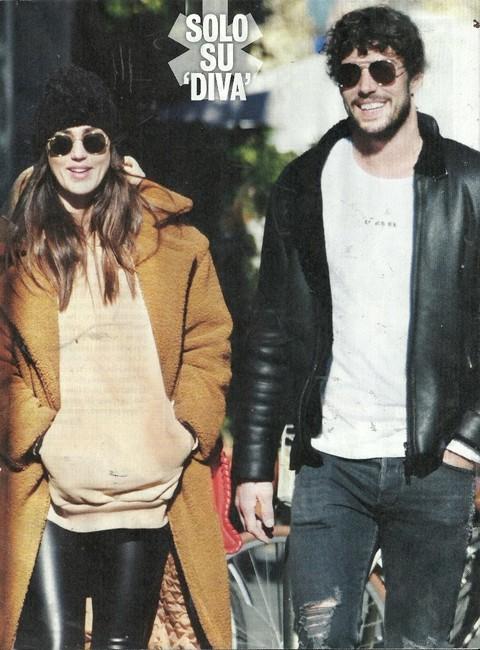 Cecilia Rodriguez a passeggio col fidanzato Ignazio Moser ...