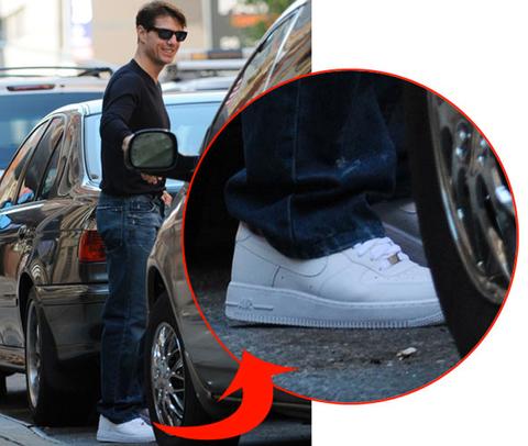 tom cruise scarpe