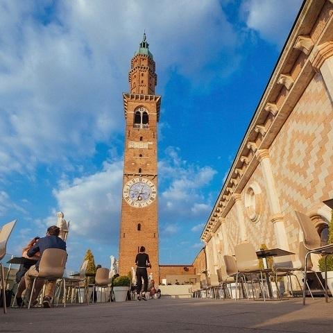 Vicenza, riapre la terrazza della basilica - Il Gazzettino.it