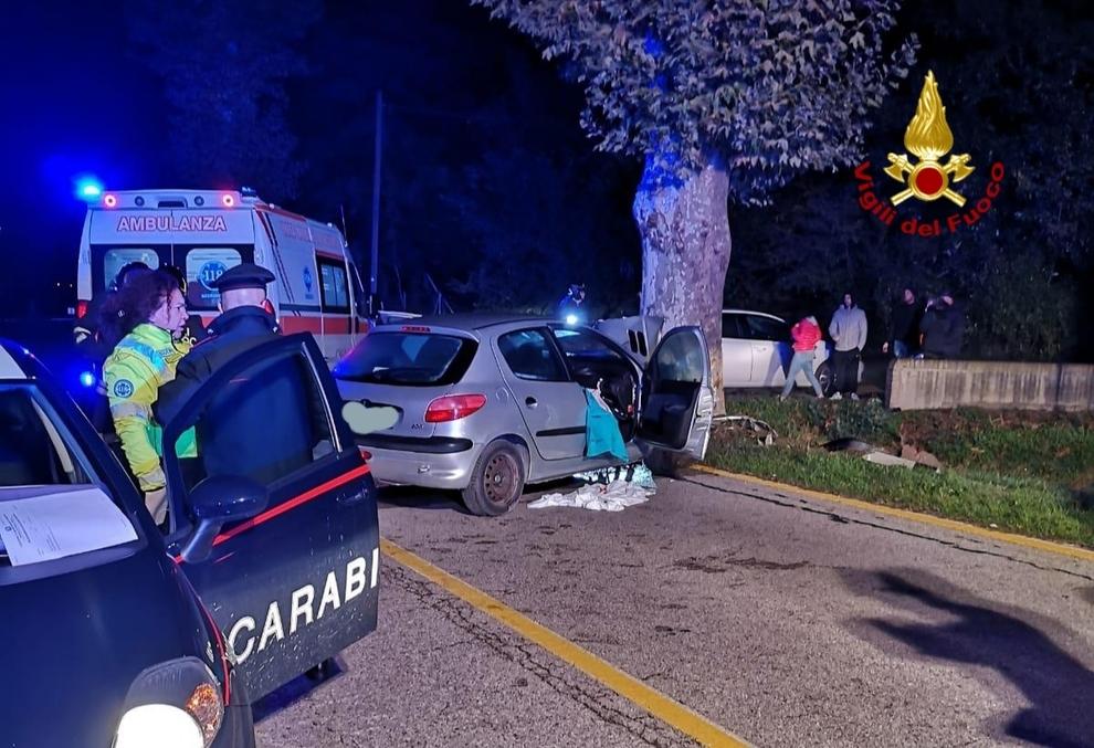 Incidente mortale a Conselve il 10-11-2019. Auto contro un albero, morto il 54enne moldavo... - Il Gazzettino